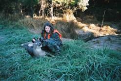 Daughters first deer