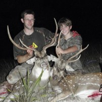 David and Sam Father/Son Axis kills