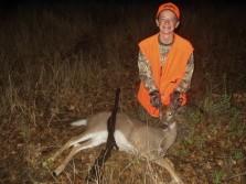 First deer of 2010