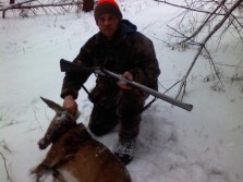 First Flintlock deer