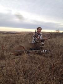 First Hunt Mule Buck