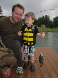 First Fish For My 3 Year Old Son