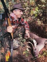 Fred Bear and a Buck Kill