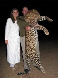 Huge Leopard Hunted