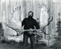 Huge moose