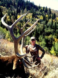 Huge Nevada Bull Elk Dropped