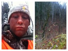 Hunting in quebec no luck yet #deer #hunting #woods #camo