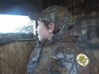 Kid Nabs big Texas Buck
