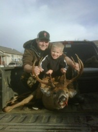 First Buck with my Son