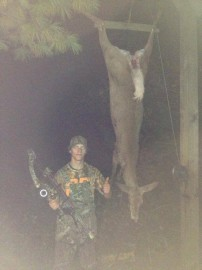 Opening day success! Doe down!