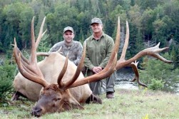 Record elk taken with bow?