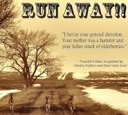 RUN AWAY!!!