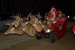 Santa's Mounted Reindeer