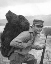 Vintage Alaska bear