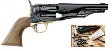 1862 Army Police .36 Caliber Revolver and Starter Kit