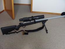 Tikka T3 Lite with Burris Eliminator scope
