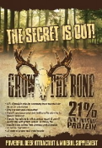 Grow The Bone deer attractant