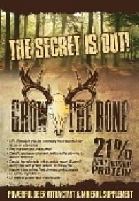 Grow The Bone deer attractant