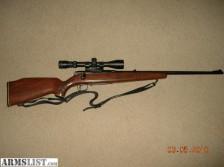Savage .222 Rifle