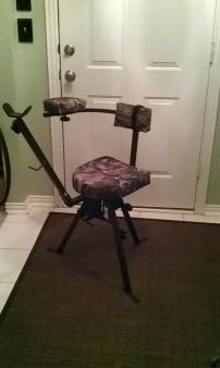 shooting chair/blind chair