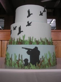 Sick Wedding Cake