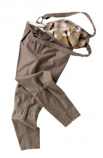 Wallsee Trousers with hamster fur